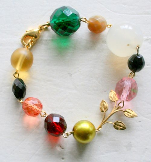 Big bead bracelet 3-1