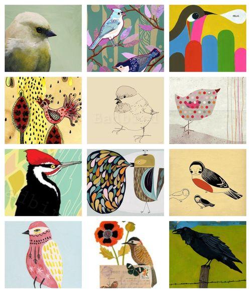 Bird collage2
