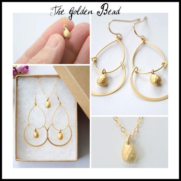 Golden bead Picnik collage