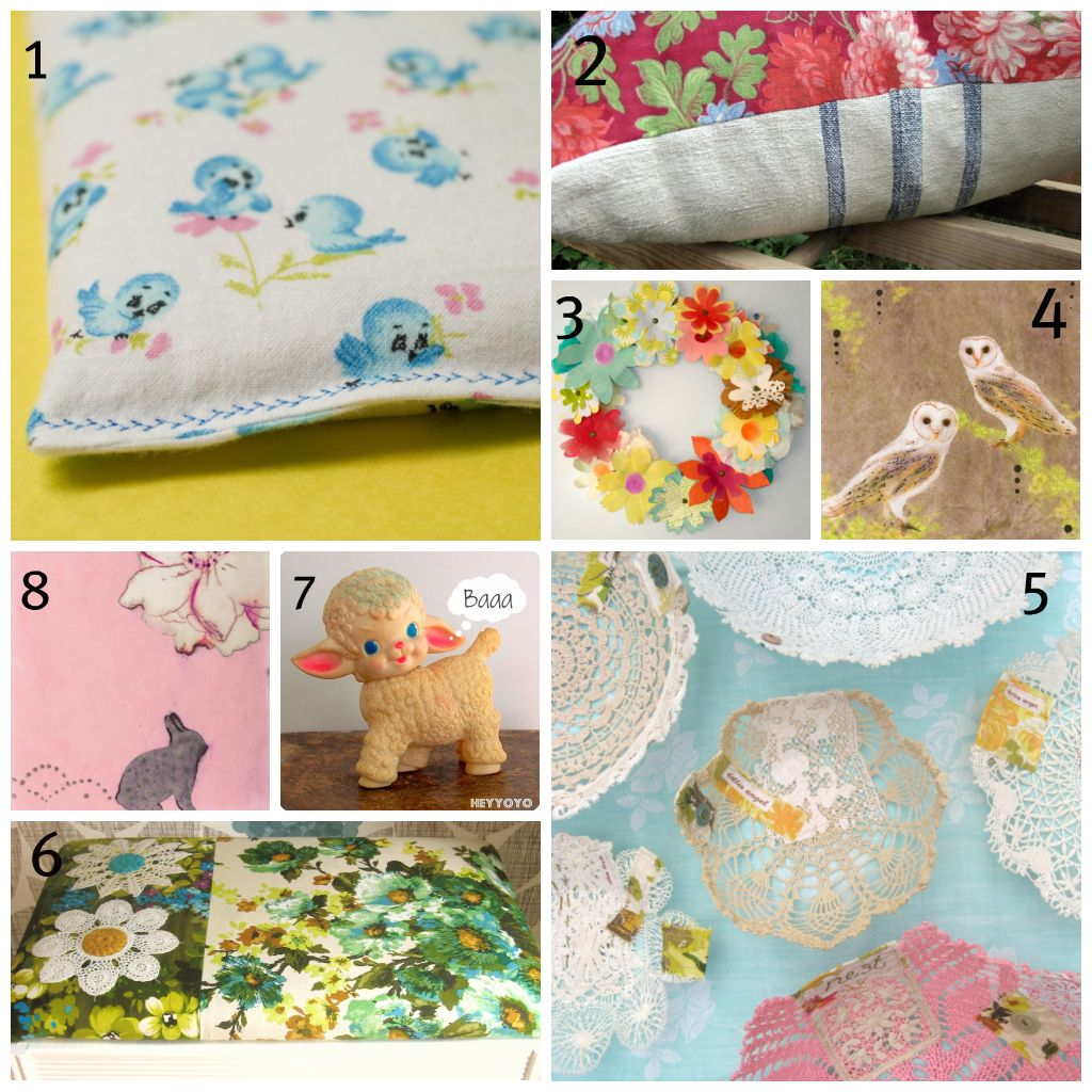 Collage sweetlist HOME