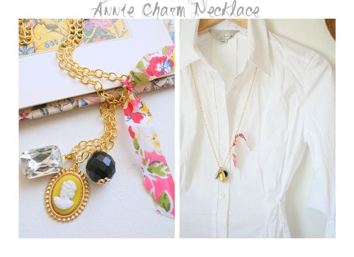 Annie charm grey collage
