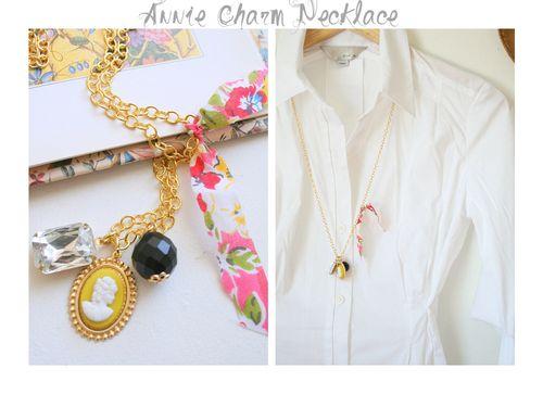 Annie charm grey collage