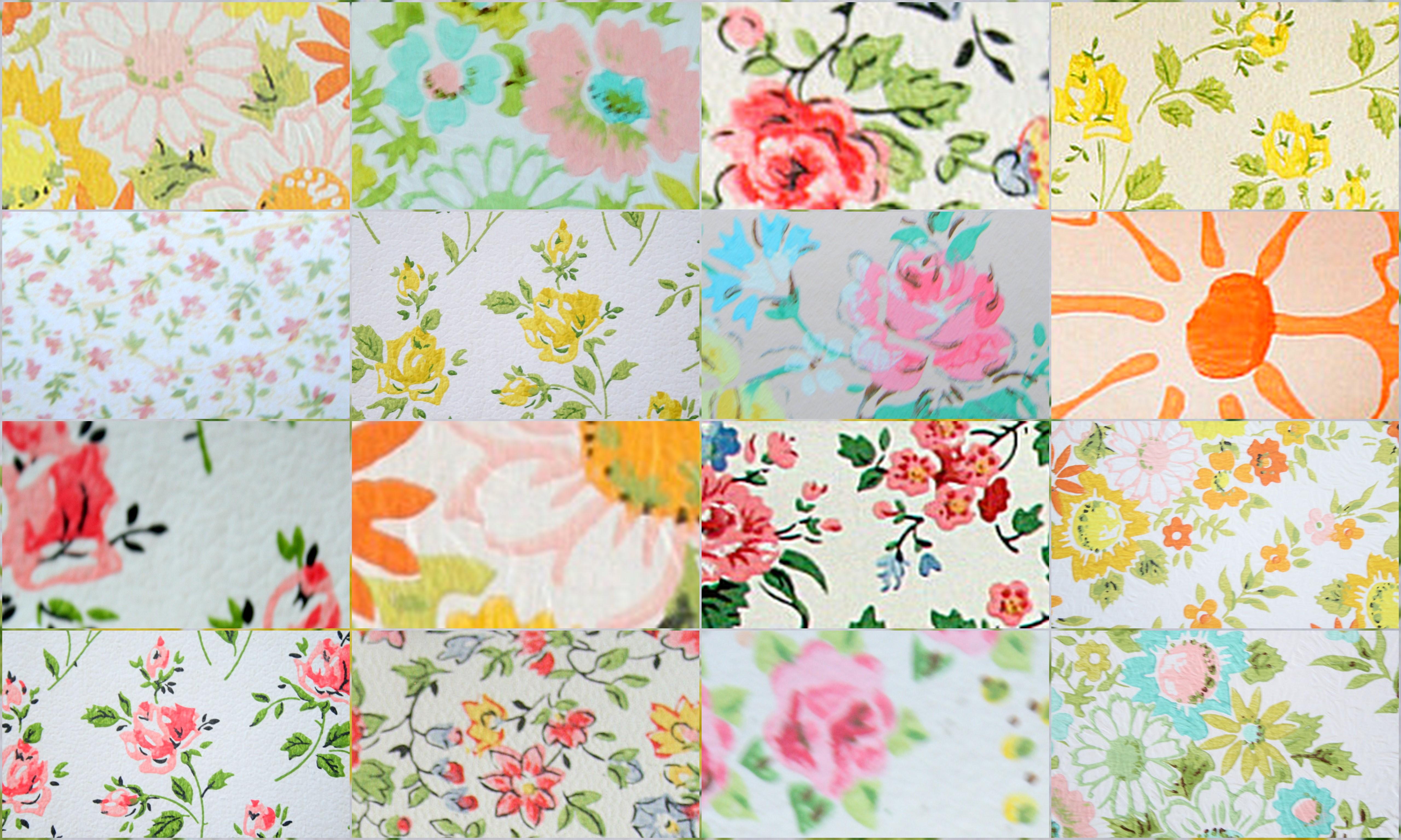 Free Vintage Desktop Background Nest Decorating