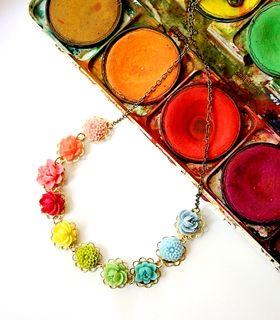 Colorwheel necklace