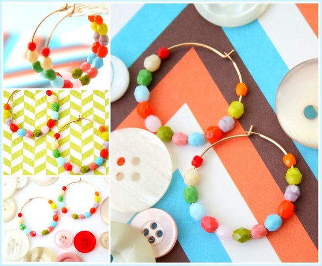 Multi hoop collage