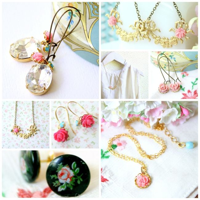 Charms collage