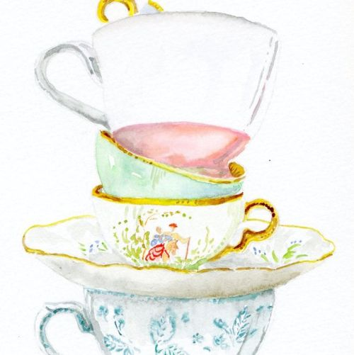 Miri tea cuo painting