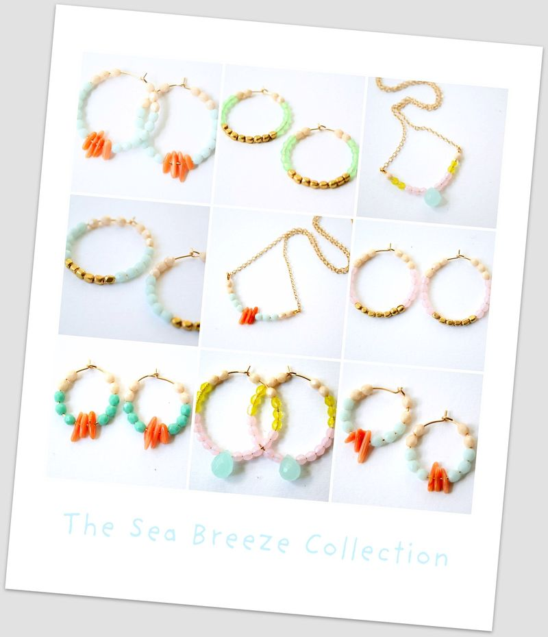 Sea breeze collage