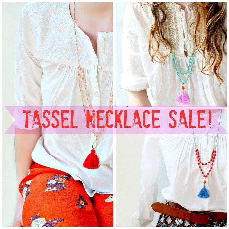 Tassle sale2