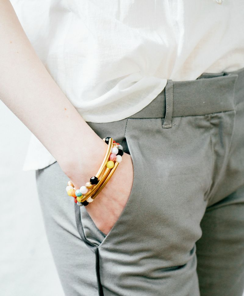 Colorful bracelet set 2 small